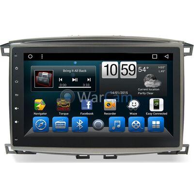 Штатная автомагнитола CarMedia KR-1099-T8 Lexus LX II 470 2003-2007 на Android 9.0
