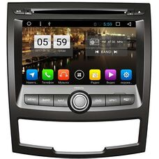 SsangYong Actyon II 2010-2013 LeTrun 2061 Android 6.0.1 Allwinner T3