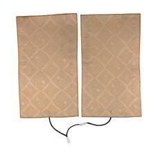 Комплект подогрева двух сидений (накидка) с розеткой в прикуриватель Ksize ZG4