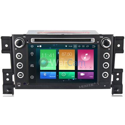 Штатная магнитола CarMedia MKD-7056-P5-8 Suzuki Grand Vitara III 2005-2015 на Android 9.0