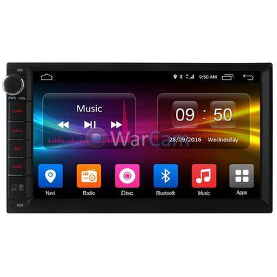 Универсальная магнитола 2 DIN CarMedia OL-7002-8 на Android 6.0.1