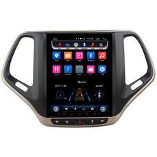 CarMedia OL-9256-9 для Jeep Cherokee IV (WK2) 2013-2017 Tesla Style на Android 6.0.1