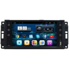CarMedia U9-6950-T8 Chrysler 300C, Sebring, Town Country 2006-2016 на Android 7.1