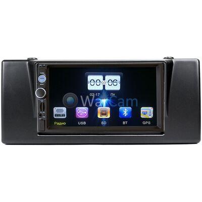 Магнитола в штатное место 2 din BMW 7 (E38), 5 (E39), M5 (E39), X5 (E53) FarCar (D809-RP-BMX5c-21) MP5 GPS навигацией