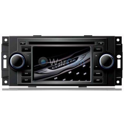 Штатная магнитола Chrysler 300C I, PT Cruiser 2005-2010 LeTrun 2176 на Android 7.1