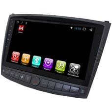 Lexus IS II (2005-2013) LeTrun 2418 на Android 7.1.1 Allwinner T3