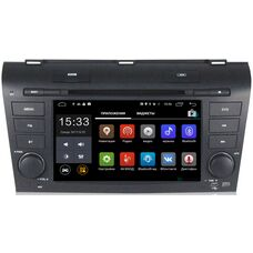 Parafar 4G/LTE для Mazda 3 (BK) 2003-2009 с DVD на Android 7.1.1 (PF161D)