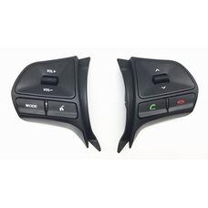 Штатные кнопки управления на руле для Kia Rio III 2011-2017