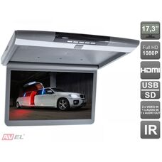 "AVIS AVS1717MPP (серый) 17,3"" со встроенным Full HD медиаплеером"