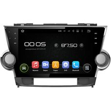 CarMedia KD-1037-P30 Toyota Highlander (U40) 2007-2013 Android 9.0