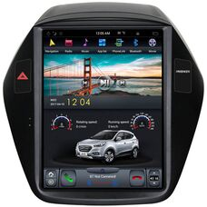 CarMedia ZF-1092 для Hyundai ix35, Tucson II 2010-2015 Tesla Style на Android 7.1