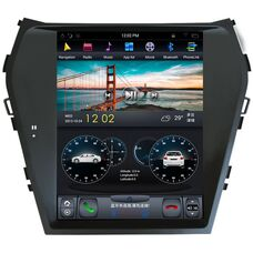CarMedia ZF-1157 для Hyundai Santa Fe III 2012-2018 Tesla Style на Android 7.1