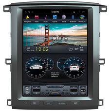 CarMedia ZF-1301 для Lexus LX II 470 2003-2007 Tesla Style на Android 7.1