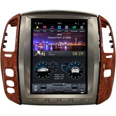 CarMedia ZF-1305-DSP для Lexus LX II 470 2003-2007 Tesla Style на Android 8.1