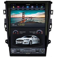 CarMedia ZF-1201-m для Ford Mondeo V 2015-2018 Tesla Style на Android 8.1