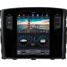CarMedia ZF-1129 для Mitsubishi Pajero Sport II, L200 IV 2006-2015 Tesla Style на Android 7.1