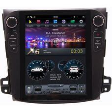 CarMedia ZF-1106-DSP для Mitsubishi Outlander II (XL) 2006-2012 Tesla Style на Android 9.0