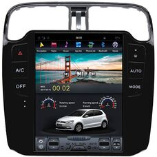 CarMedia ZF-1060 для Volkswagen Polo 5 2009-2019 Tesla Style на Android 7.1