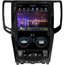 CarMedia ZF-1820 для Infiniti G25, G37 2007-2014 Tesla Style на Android 8.1