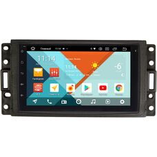 Hummer H3 2005-2010 Wide Media MT7001PK-2/16-RP-HMH3B-96 на Android 9.1 (DSP 3G-SIM)
