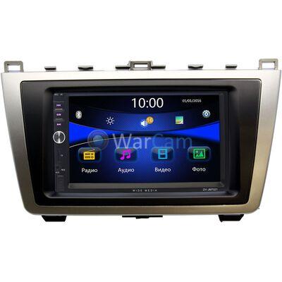 Магнитола в штатное место 2 din Mazda 6 (GH) 2007-2012 Wide Media DV-JM7021-RP-MZ6C-115 без NAVI