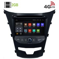 SsangYong Actyon II 2013-2018 LeTrun 2680 Android 8.1 7 дюймов (4G LTE 2GB)