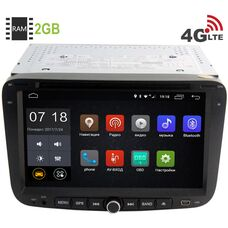 Geely Emgrand EC7 2009-2014 LeTrun 2606 Android 6.0.1 7 дюймов (4G LTE 2GB)