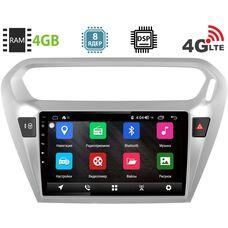 Citroen C-Elysee 2013-2018 LeTrun 1886 на Android 8.1 (8 ядер, 4G SIM, DSP, 4GB/64GB)