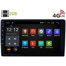 2 DIN LeTrun 2889 Android 8.0.1 MTK 10 дюймов (короткая) 4G