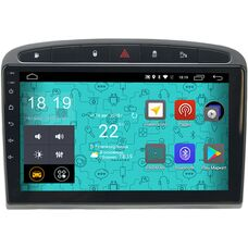 Parafar 4G/LTE для Peugeot 308 I, 408, RCZ I 2010-2014 на Android 7.1.1 (PF081-B)