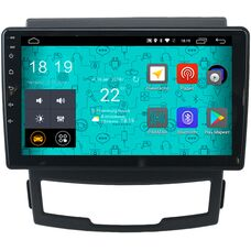 Parafar 4G/LTE для SsangYong Actyon II 2010-2013 на Android 7.1.1 (PF159)