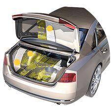 Шумоизоляция багажника с крышкой автомобиля