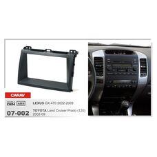 Переходная рамка CARAV 07-002 (Lexus GX 470 2002-2009, Toyota Land Cruiser Prado 120 2002-2009)