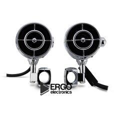 Акустическая система для мотоцикла ERGO ER500M (хром)
