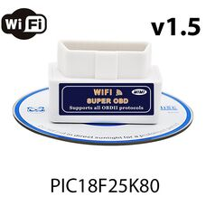 OBD2 ELM327 Super Mini Wi-Fi V1.5 (iPhone/Android) (чип PIC18F25K80)