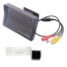 Монитор 4.3 дюйма + камера заднего вида для Audi A3 (03-13) / A4 (04-08) / A6 (01-04) / A8 (02-10) / Allroad (01-04) / Q7 (05-11)