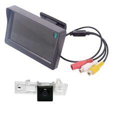 Монитор 4.3 дюйма + камера заднего вида для Audi A1 / A4 (08+) / A5 (08+) / A7 / Q3 / Q5 (08+) / TT (07-14) / S6