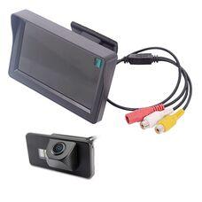 Монитор 4.3 дюйма + камера заднего вида для BMW 3, 5, 7, X1, X5, X6