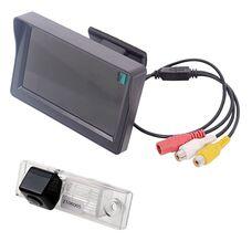 Монитор 4.3 дюйма + камера заднего вида для Chevrolet Aveo (2004-2011), Captiva (2006-), Cruze (2008-), Epica (2006-), Orlando (2010-), Lacetti, Lova