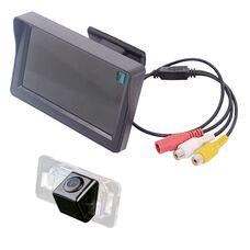 Монитор 4.3 дюйма + камера заднего вида для BMW 3, 5, X5, X6