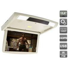 """AVIS Electronics AVS1250T (бежевый) 15,6"""" с моторизованным приводом, встроенным FULL HD медиаплеером и Miracast"""