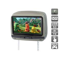 """AVIS Electronics AVS0945T (серый) с сенсорным монитором 9"""" и встроенным DVD плеером"""