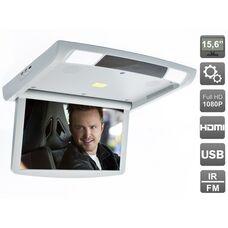 """AVIS Electronics AVS1250T (серый) 15,6"""" с моторизованным приводом, встроенным FULL HD медиаплеером и Miracast"""