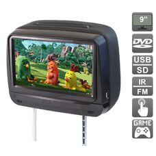 """AVIS Electronics AVS0945T (черный) с сенсорным монитором 9"""" и встроенным DVD плеером"""