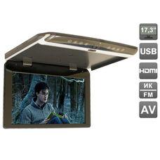 "AVIS Electronics AVS1750MPP (тёмно-серый) 17,3"" со встроенным FULL HD медиаплеером"