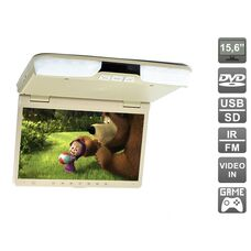 "AVIS Electronics AVS1520T (бежевый) 15,6"" со встроенным DVD плеером"