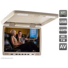 """AVIS Electronics AVS117 (бежевый) 17"""" со встроенным медиаплеером"""