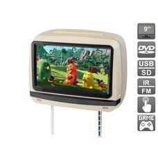 """AVIS Electronics AVS0945T (бежевый) с сенсорным монитором 9"""" и встроенным DVD плеером"""