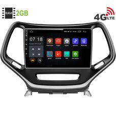 Jeep Cherokee IV (WK2) 2013-2017 LeTrun 1880 Android 6.0.1 10 дюймов (4G LTE 2GB)