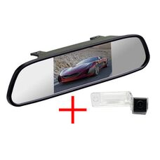Зеркало + камера для Audi A3 (03-13) / A4 (04-08) / A6 (01-04) / A8 (02-10) / Allroad (01-04) / Q7 (05-11)